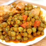 Pea and chicken stew recipe