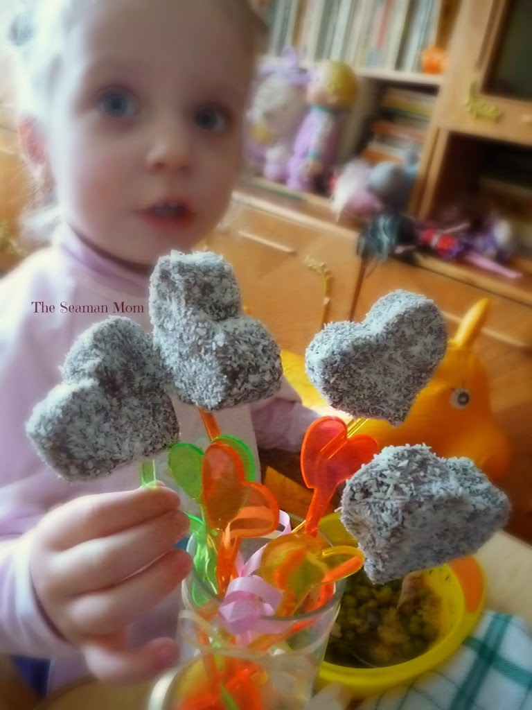 Valentine's Day Homemade Heart Shaped Chocolate Lollipops