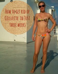 How to get rid of cellulite in three weeks image