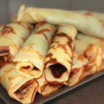 Recipe –  Crepes with Sour Cherry Jam