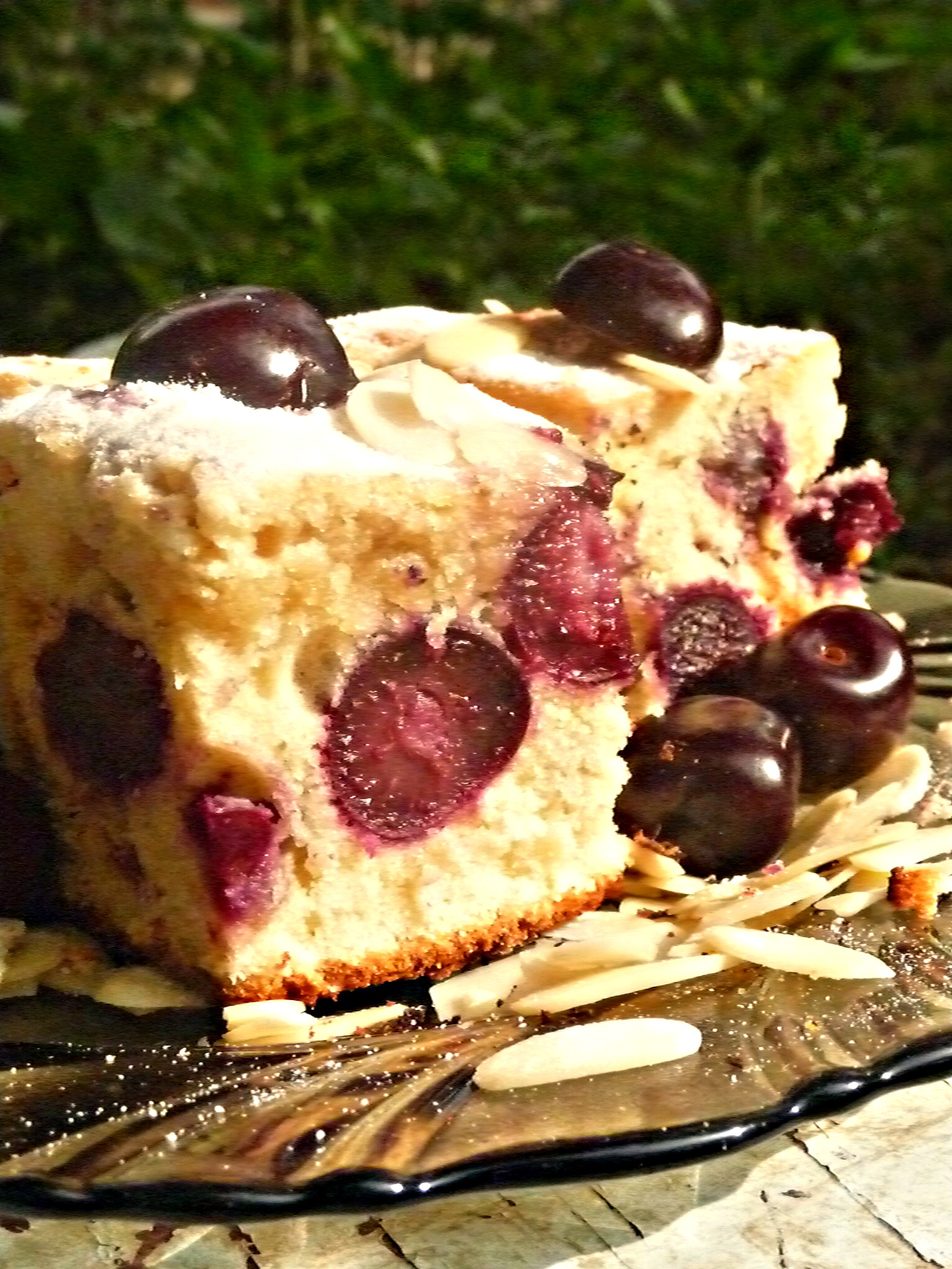 Recipe - Fresh Cherry pound cake
