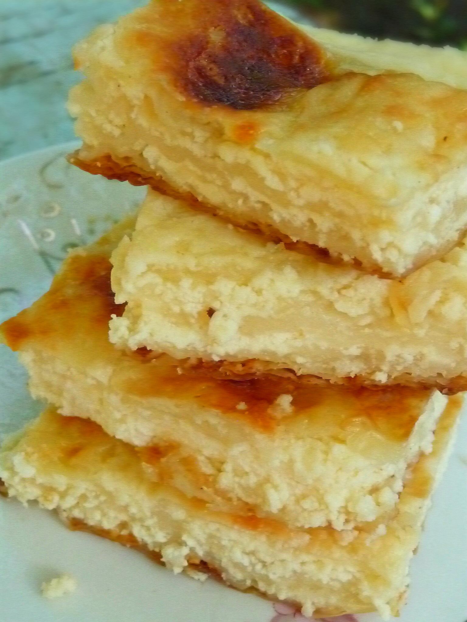 Easy homemade cheese pie