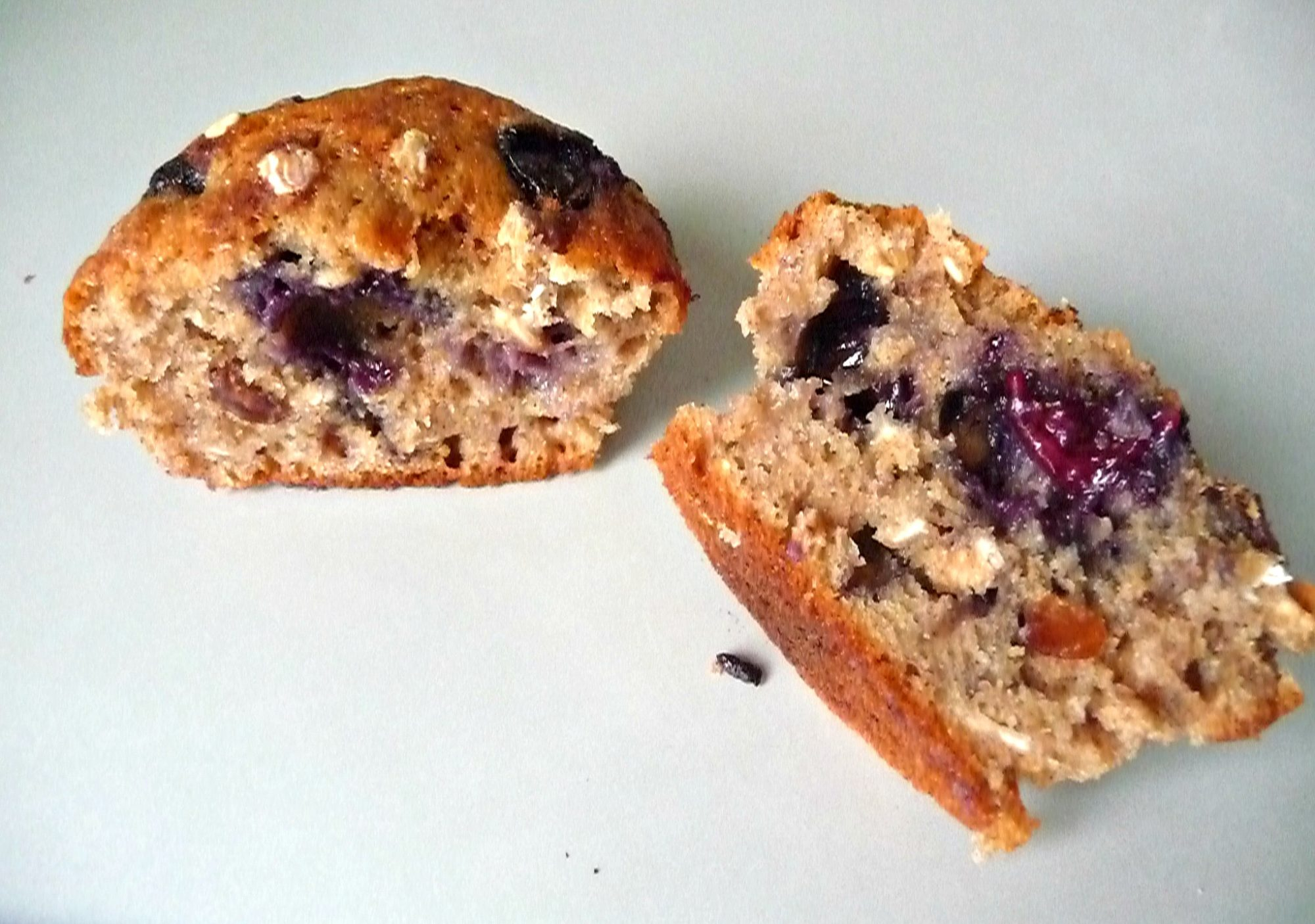 Whole wheat muesli muffins