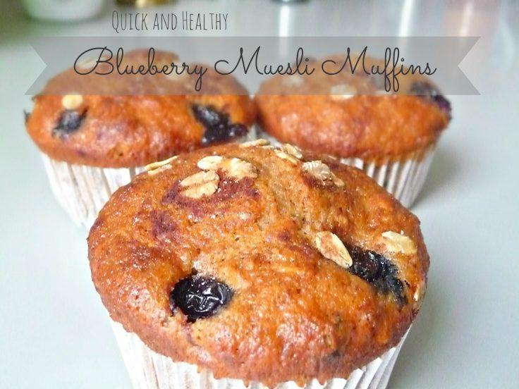 Whole wheat muesli Muffins