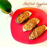 Super easy recipe – Quick Stuffed Eggplant