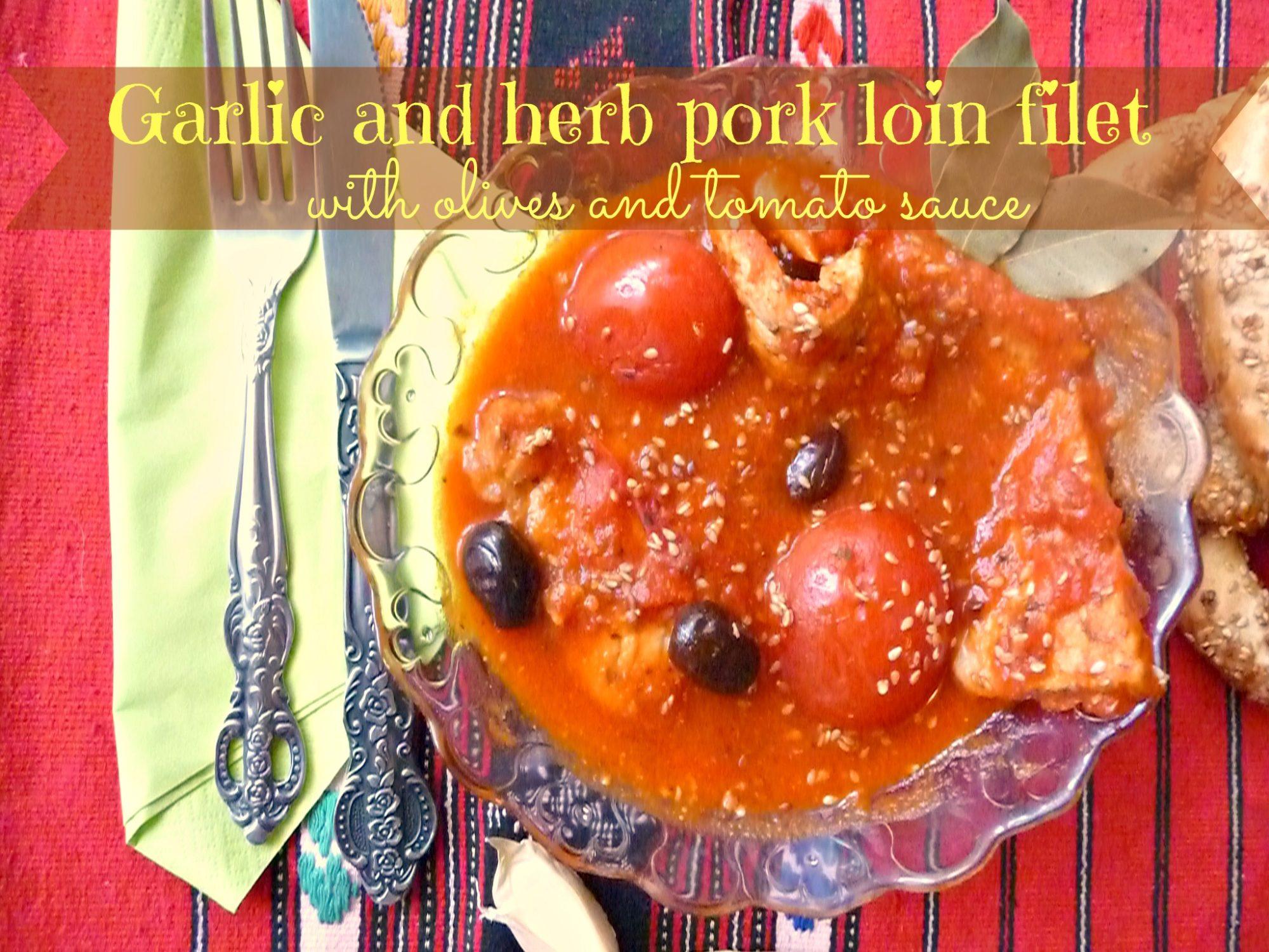 Quick marinated pork loinQuick marinated pork loin