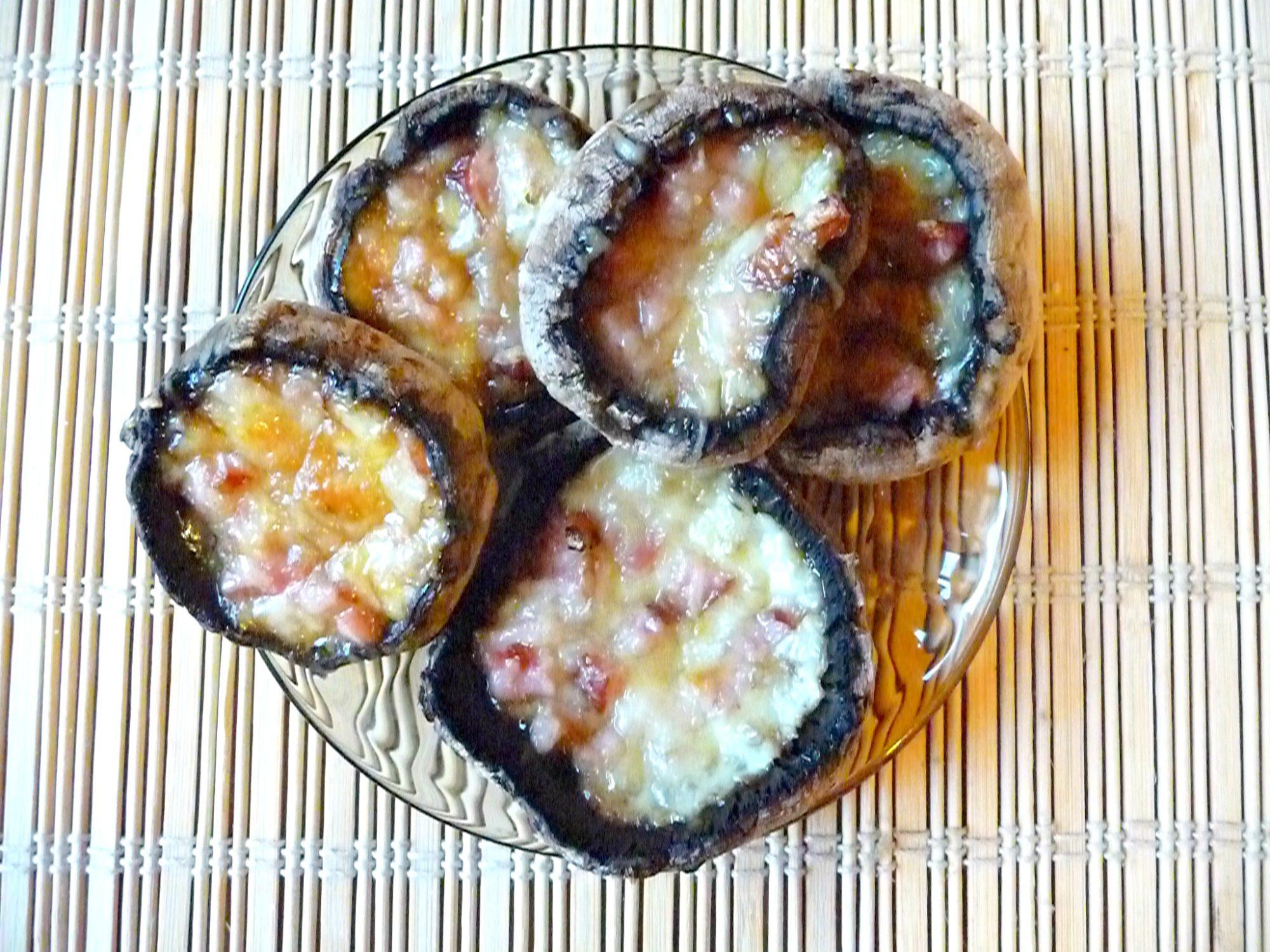 Easy stuffed mushrooms appetizer