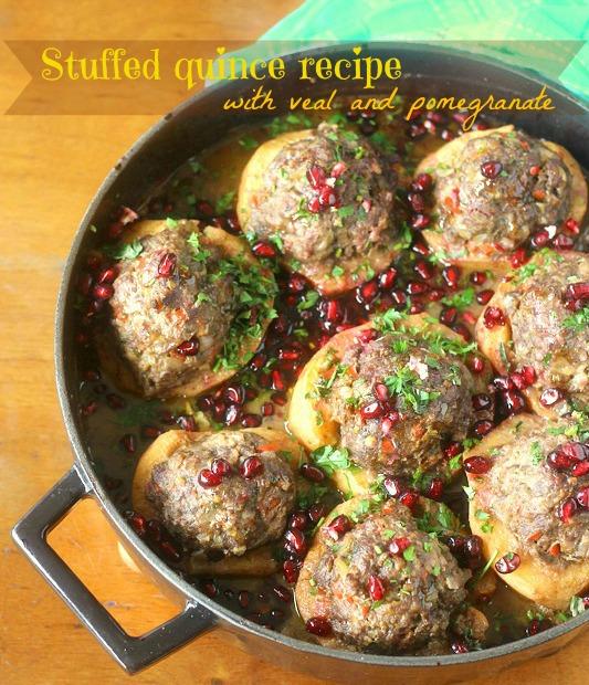 Stuffed quince recipe