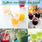25 Best smoothies and juices collection