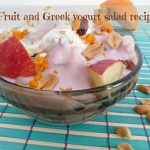Fruit and Greek yogurt salad recipe
