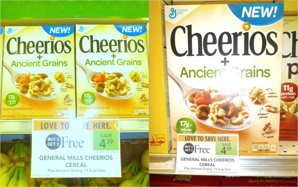 Cheerios +Ancient Grains