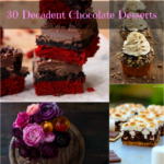 30 Decadent chocolate desserts