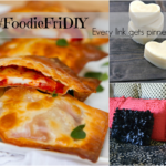 #FoodieFriDIY – Baked Pizza wraps, Homemade lotion bars & How to sew a ruffle pillow