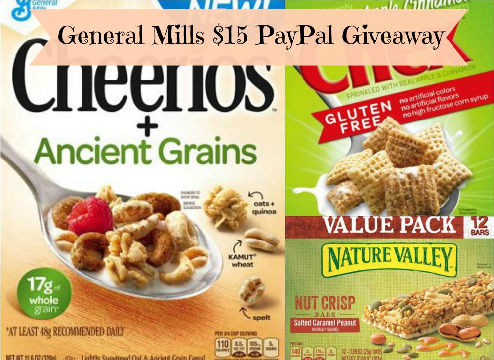 General Mills giveaway