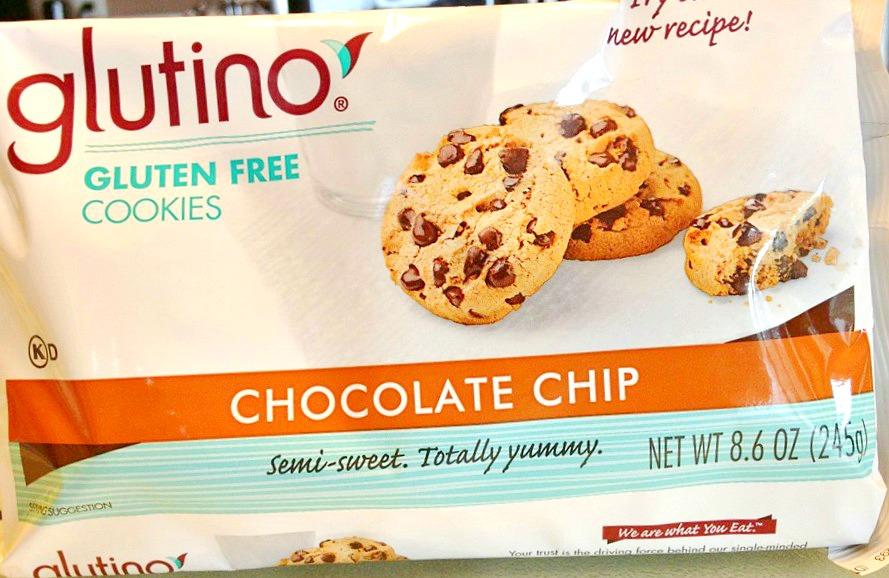 Glutino chocolate chip cookies