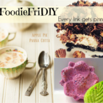 #FoodieFriDIY – No bake Cheesecake, Apple Pie Panna Cotta & DIY bath bombs
