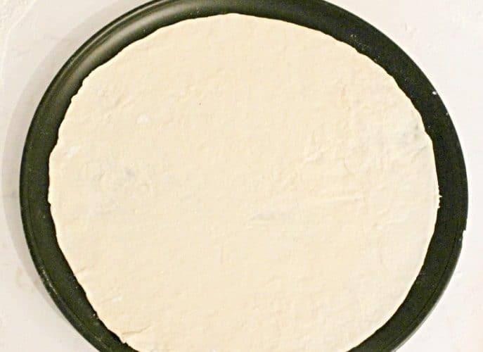 Crispy pizza dough recipe