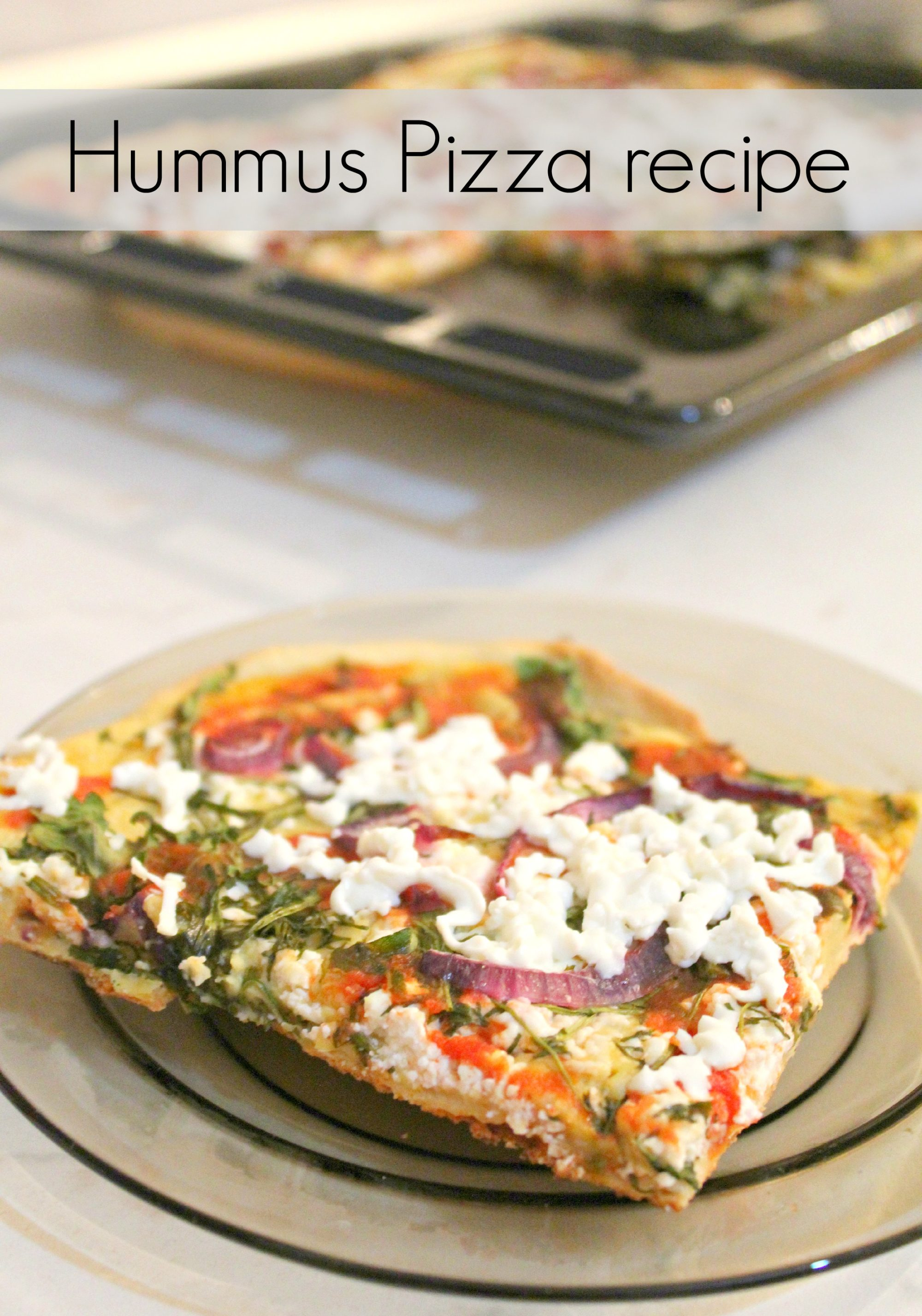 Hummus pizza recipe