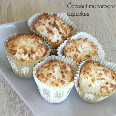 Coconut macaroons cupcakes recipe