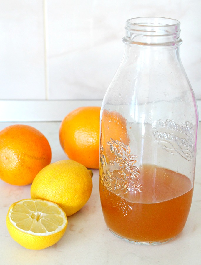 Natural citrus cleaner
