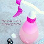 Easy DIY All purpose cleaner recipe