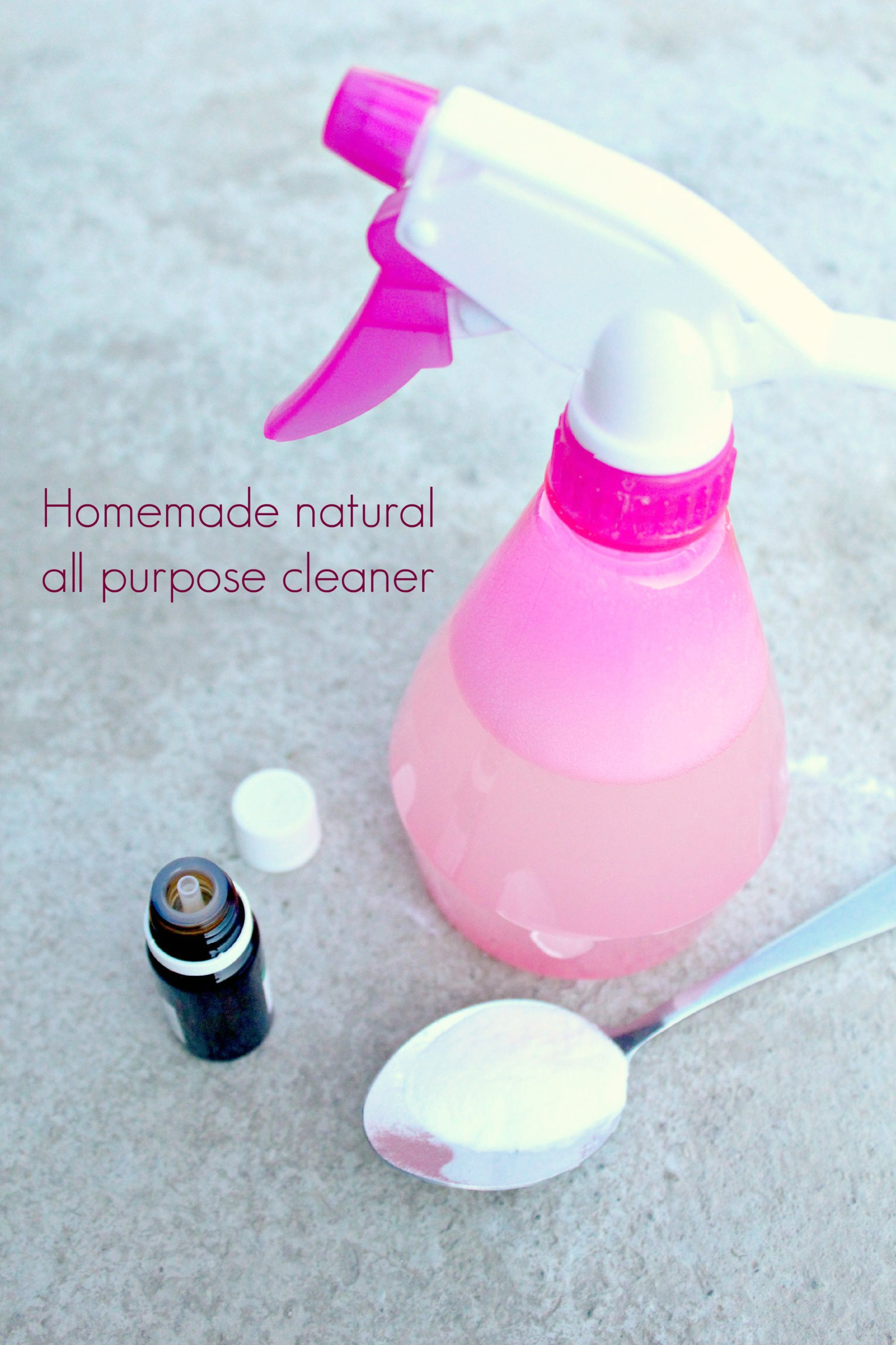 Homemade Natural All Purpose Cleaner The Seaman Mom