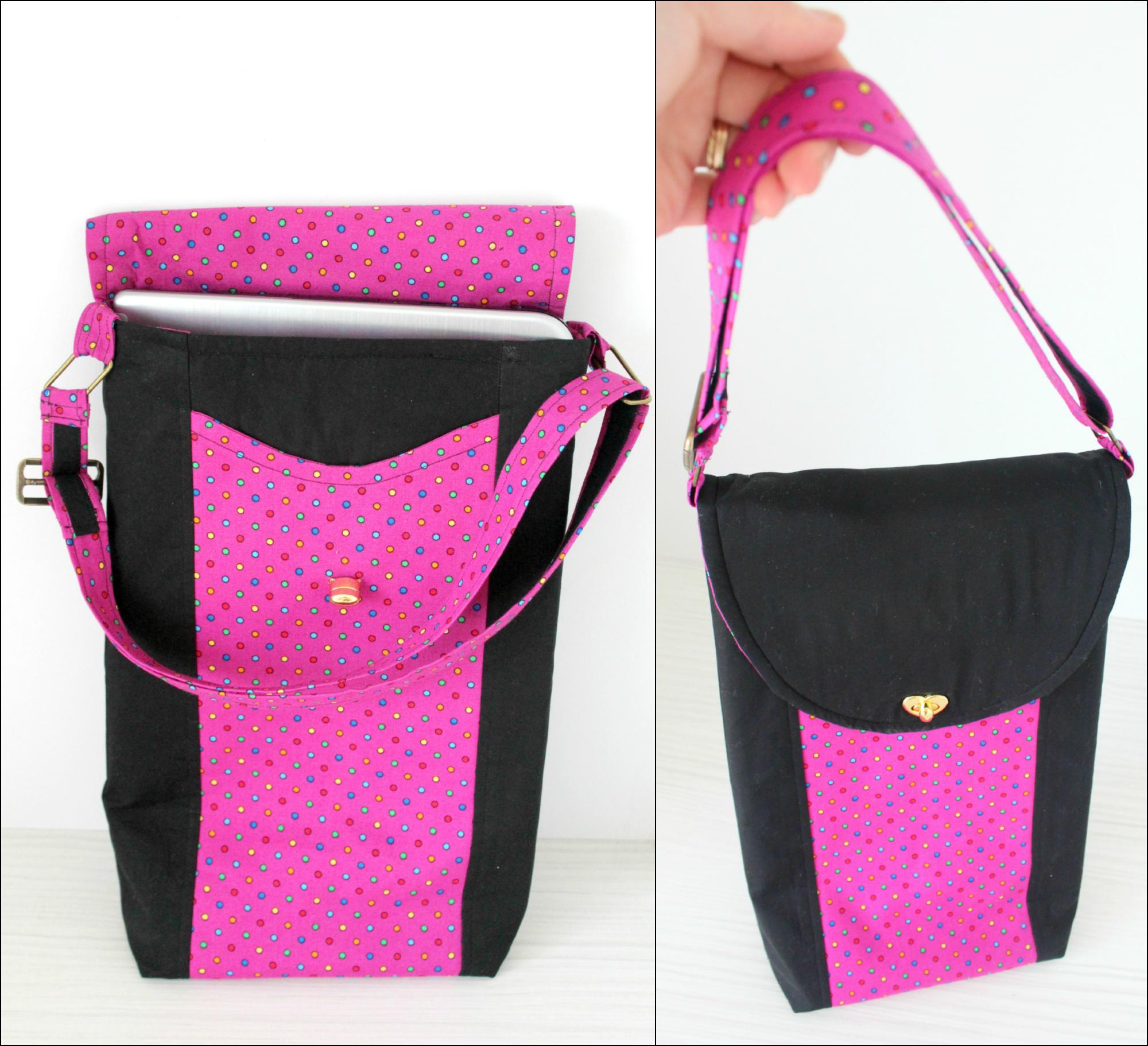 Cross Body Bag pattern laptop cover