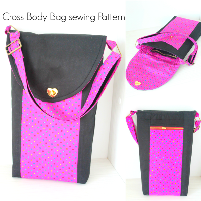 Sewing project – Cross body bag pattern