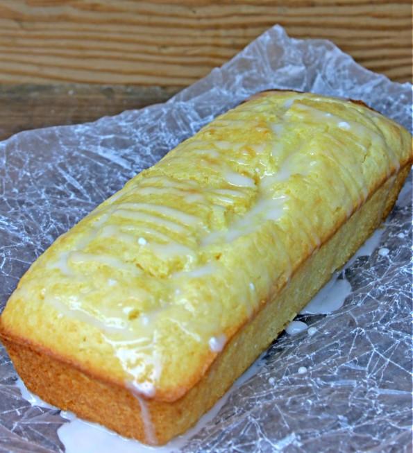 Lemon sour cream pound cake