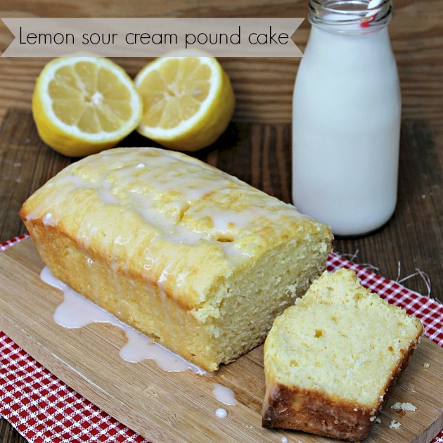 Sour Lemon Cake Recipe — Dishmaps