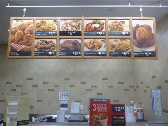 Walmart Deli Fried Chicken
