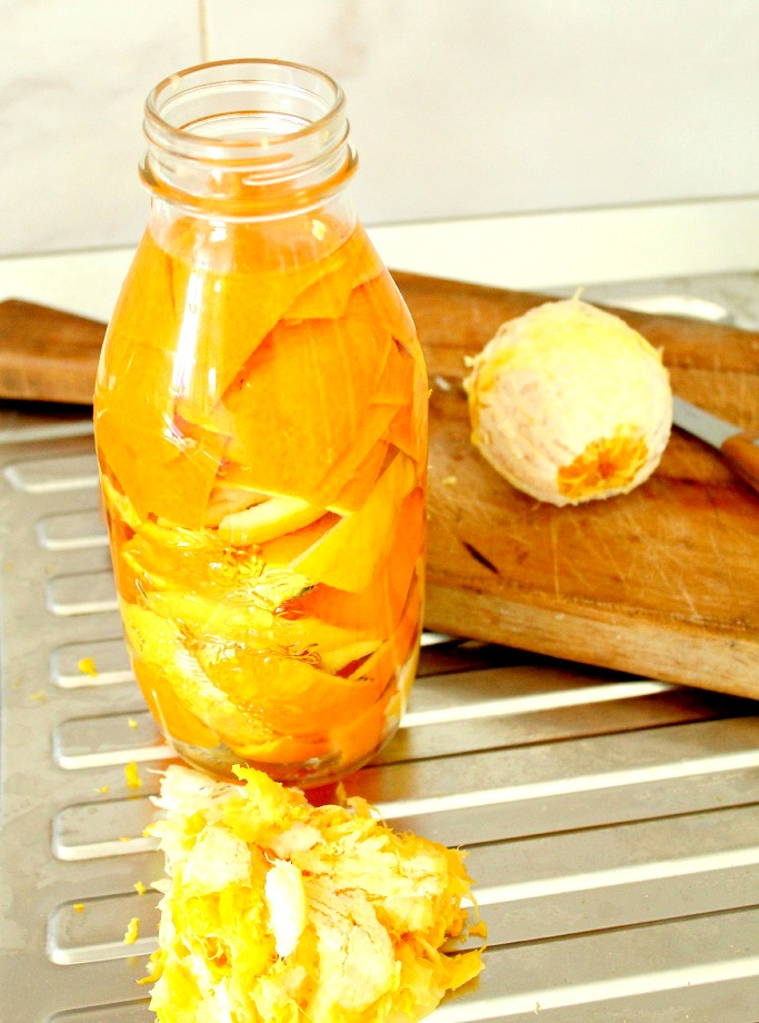 Homemade vinegar cleaner
