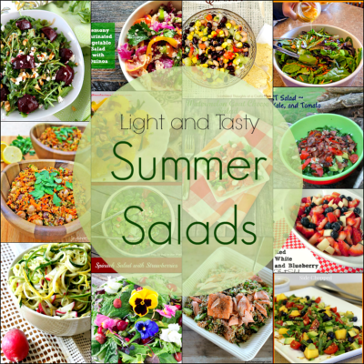 The ultimate collection of refreshing, light and tasty Summer Salads