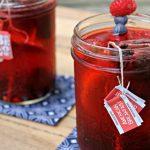 Lemon berry iced tea