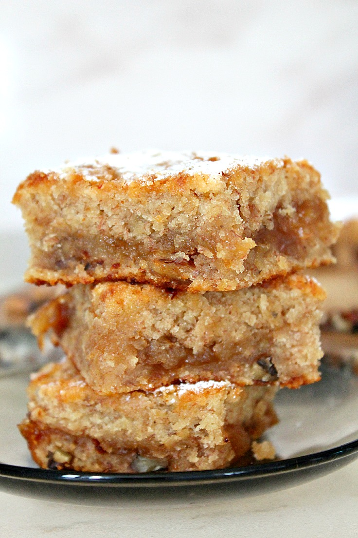 Vegan blondie recipe