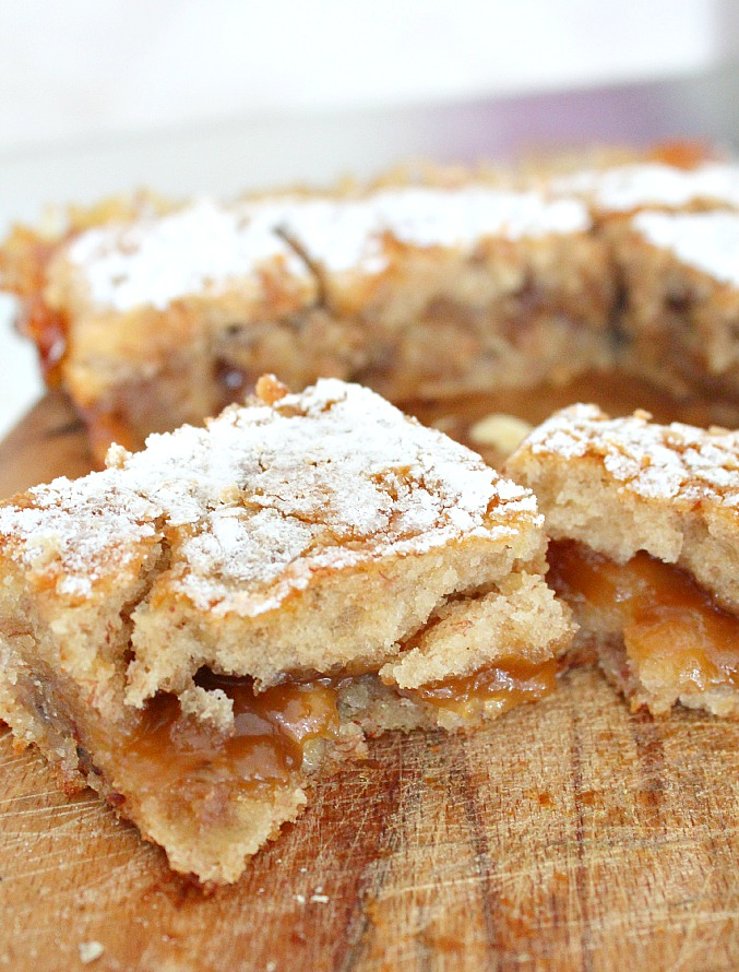 banana blondies recipe
