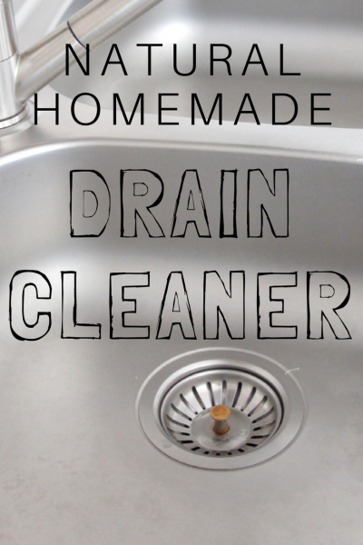 Best Natural Homemade Drain Opener