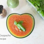 The Best cold tomato soup – Spicy Gazpacho recipe