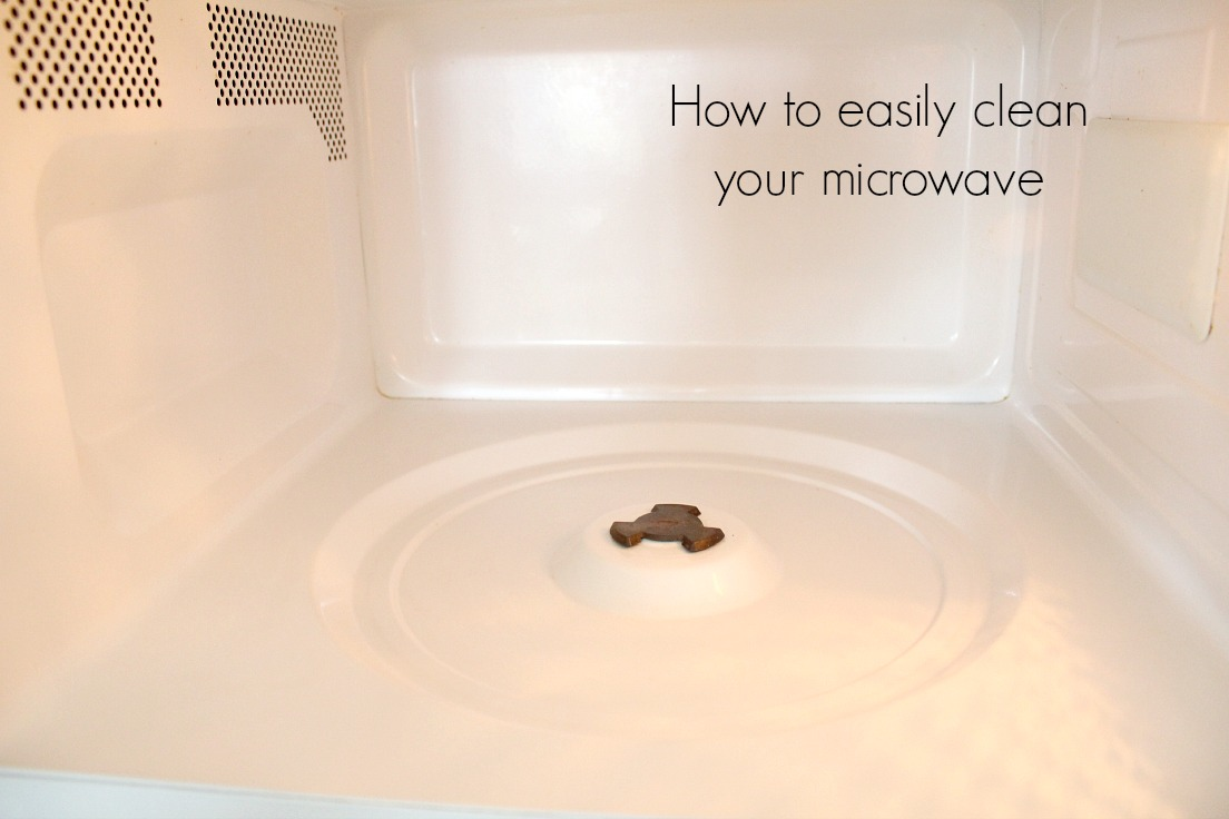 How to clean your microwave without chemicals