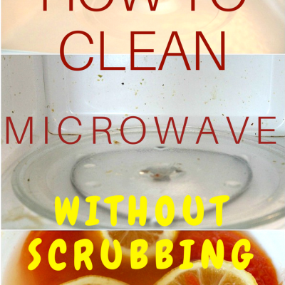 Brilliant Natural Way To Clean Microwave Ovens