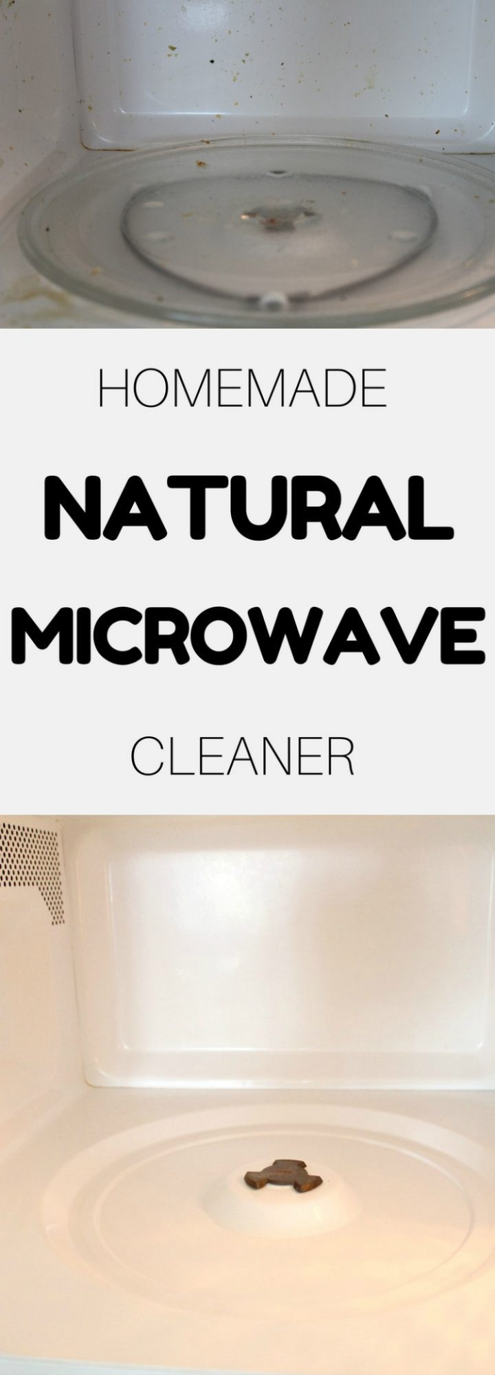 Natural way to clean microwave