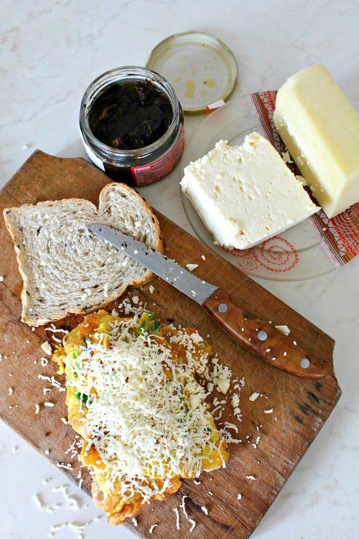 Omelette sandwich recipe 2
