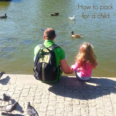 How to pack for kids when traveling for a longer period of time