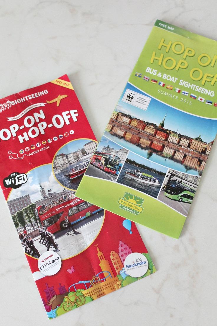 Stockholm hop on hop off
