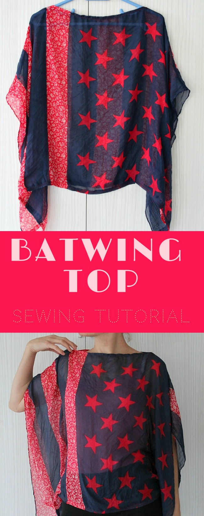 Batwing top tutorial