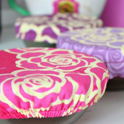 Handy Reusable Fabric Bowl Cover