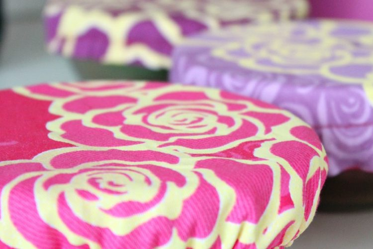 Handy Reusable Fabric Bowl Cover