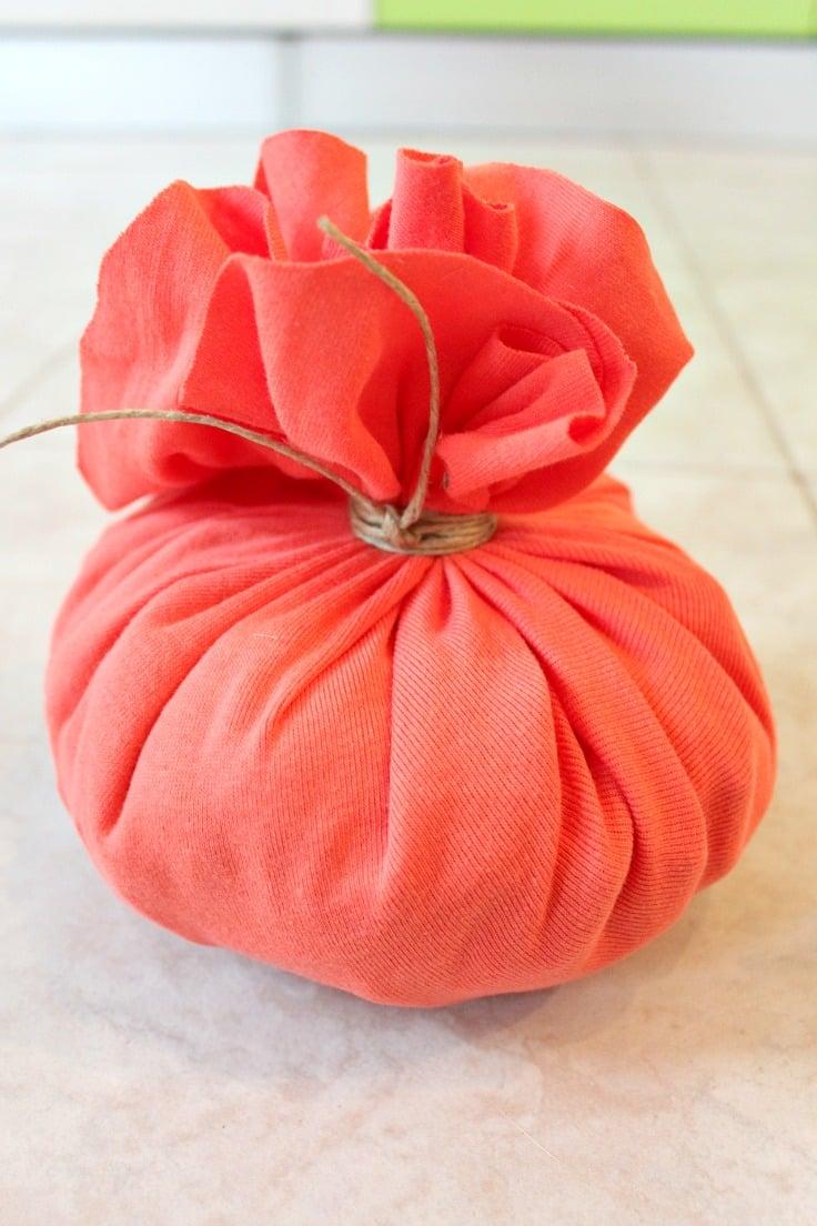 DIY Pumpkin step 4