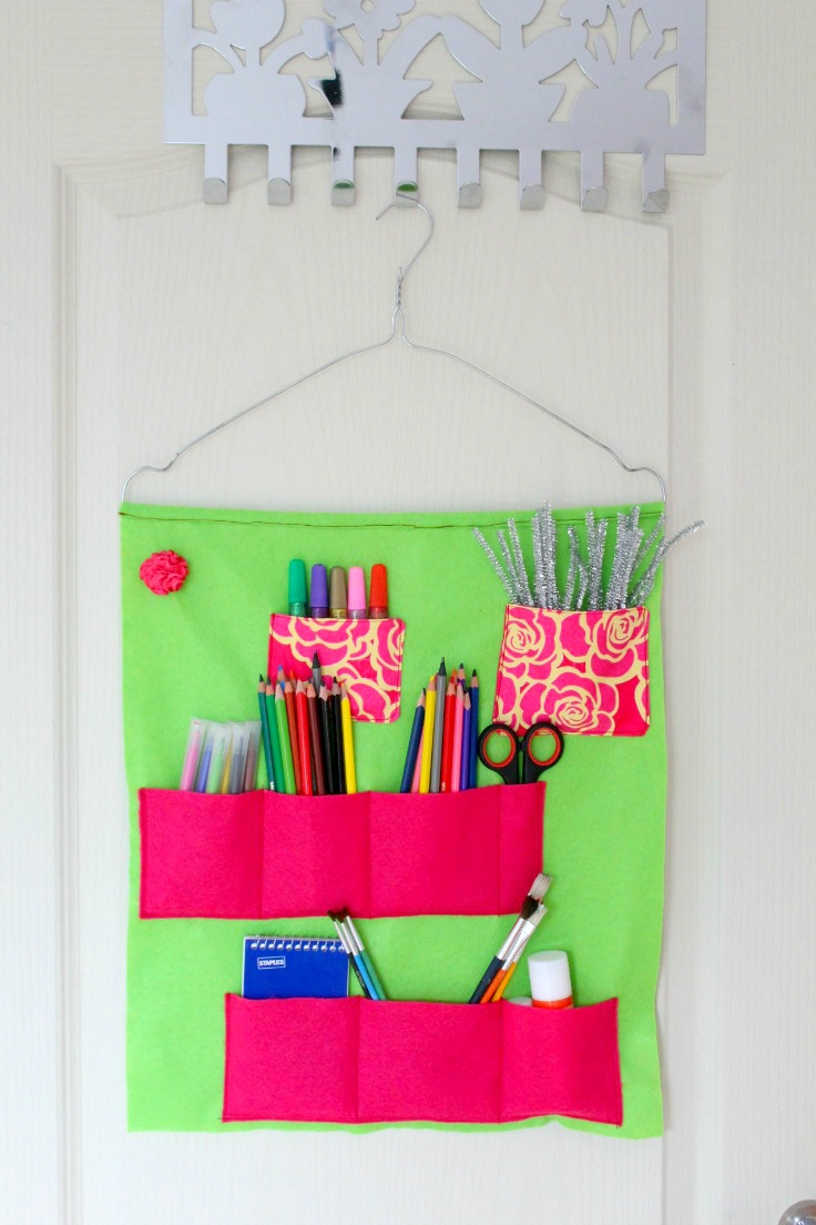 Shool supply storage ideas