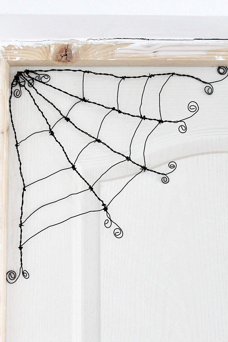 how to make spider web